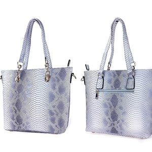 Anthropologie Snake Skin Tote